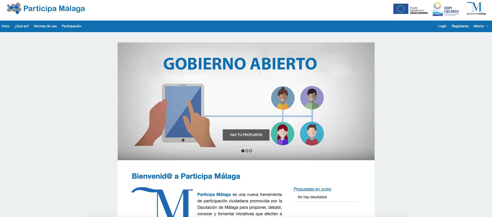 Imagen de la noticia Participa Málaga