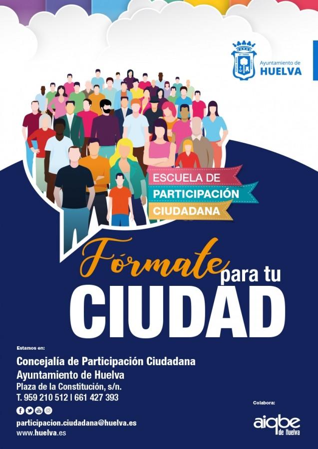 Imagen de la noticia Escuela de Participación Ciudadana Huelva