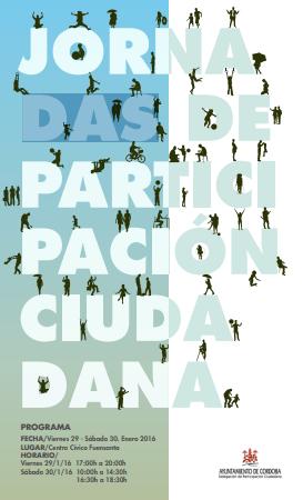 Imagen de la noticia Jornadas de participación ciudadana de Córdoba 2016