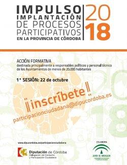 Imagen de la noticia Impulso e implantación de procesos participativos en la provincia de Córdoba