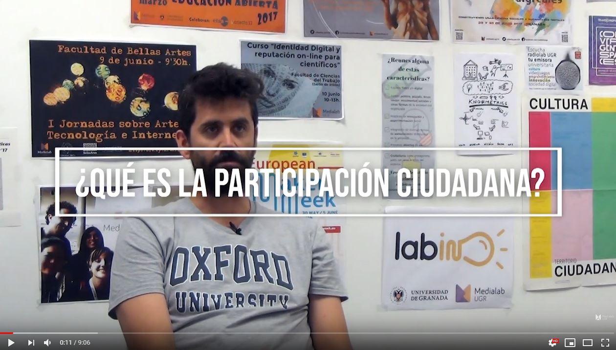 Imagen de la noticia Entrevista sobre Participación Ciudadana a Pablo Aragón