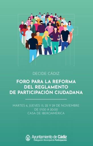 Imagen de la noticia Foro «Decide Cádiz»