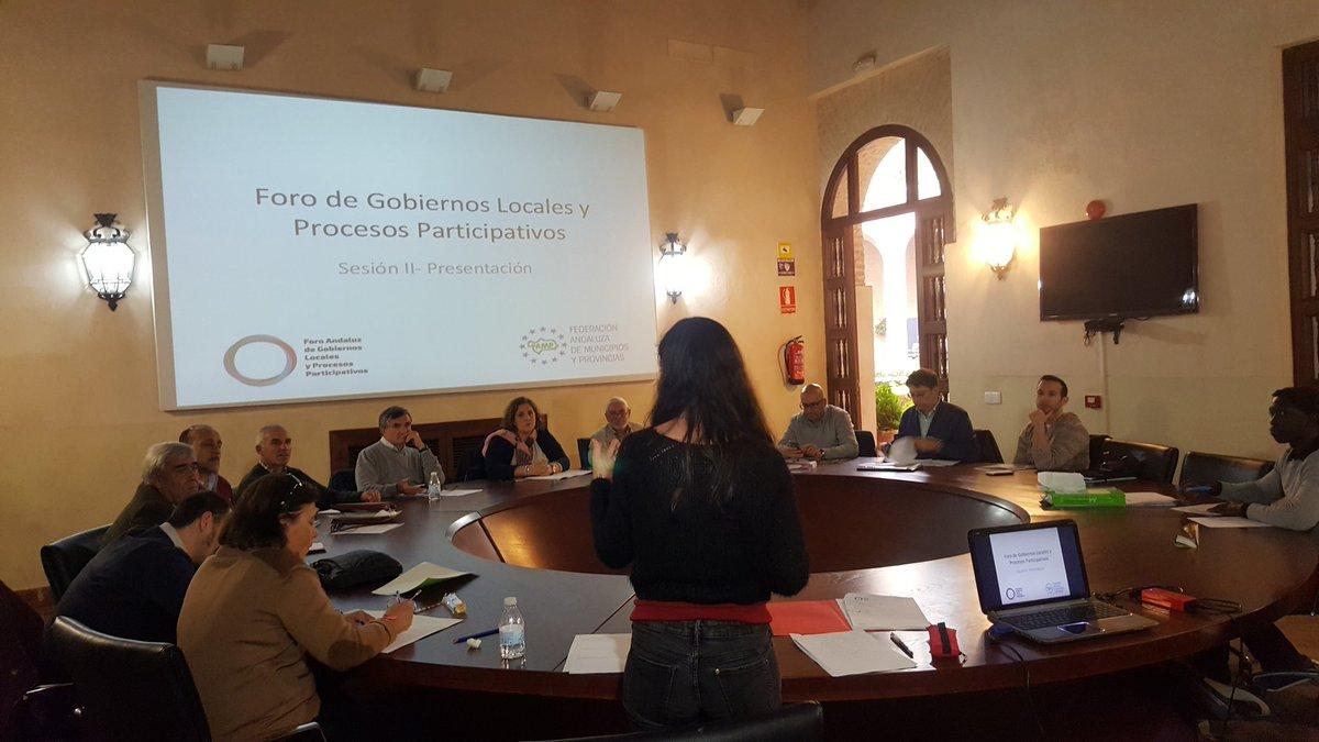 Imagen de la noticia Foro Andaluz de Gobiernos Locales y Procesos Participativos