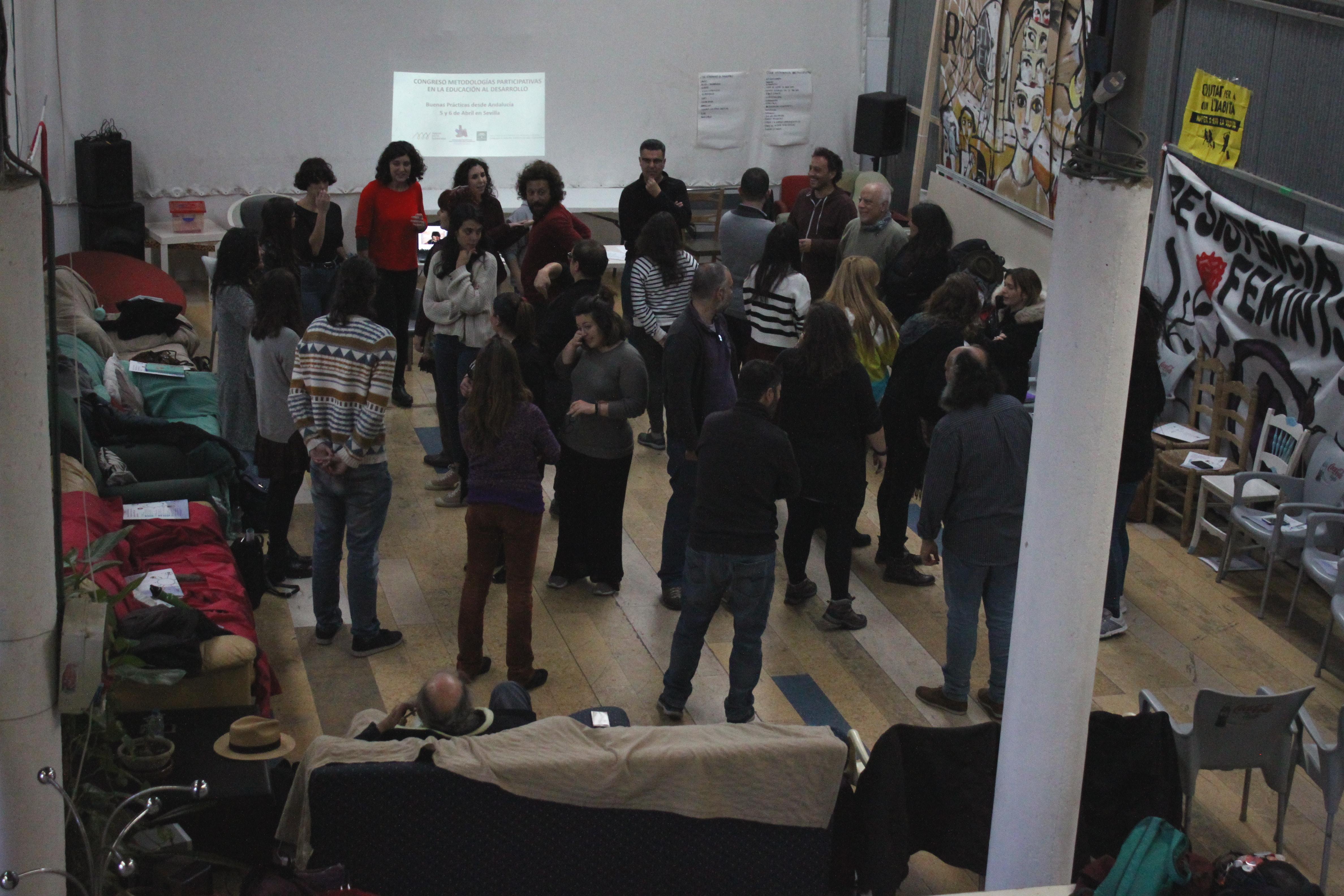 Imagen de la noticia Facilitación del Congreso de Metodologías Participativas en la EpD: Buenas prácticas en Andalucía