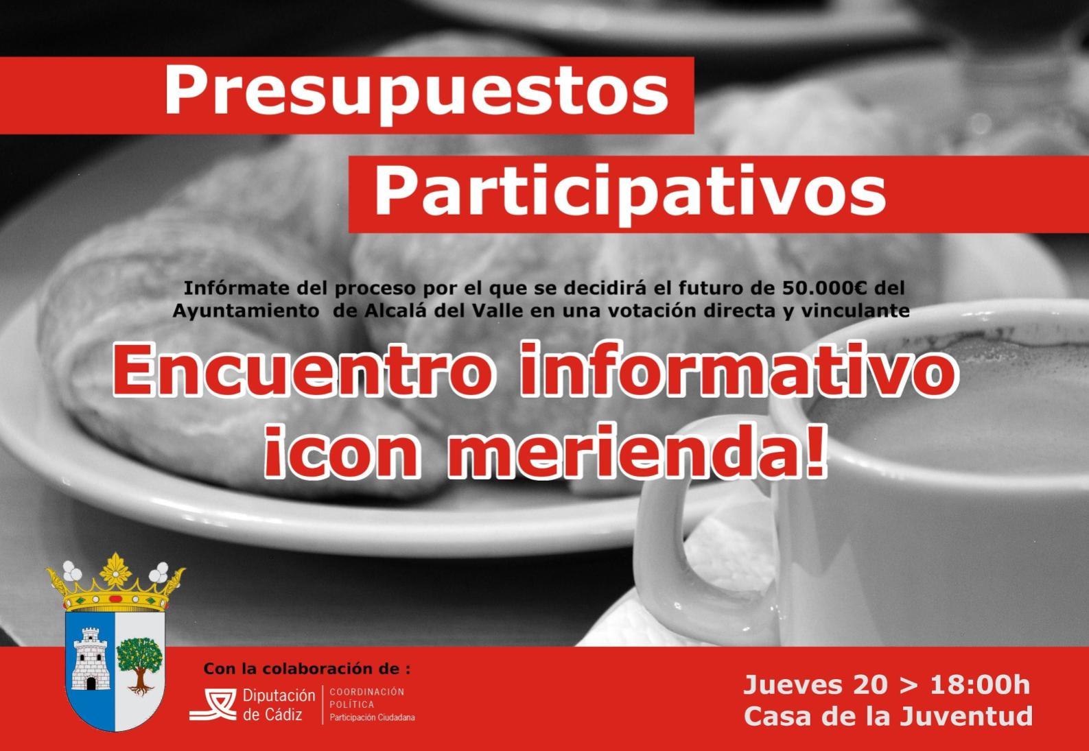 Imagen de la noticia Presupuestos Participativos de Alcalá del Valle 2017