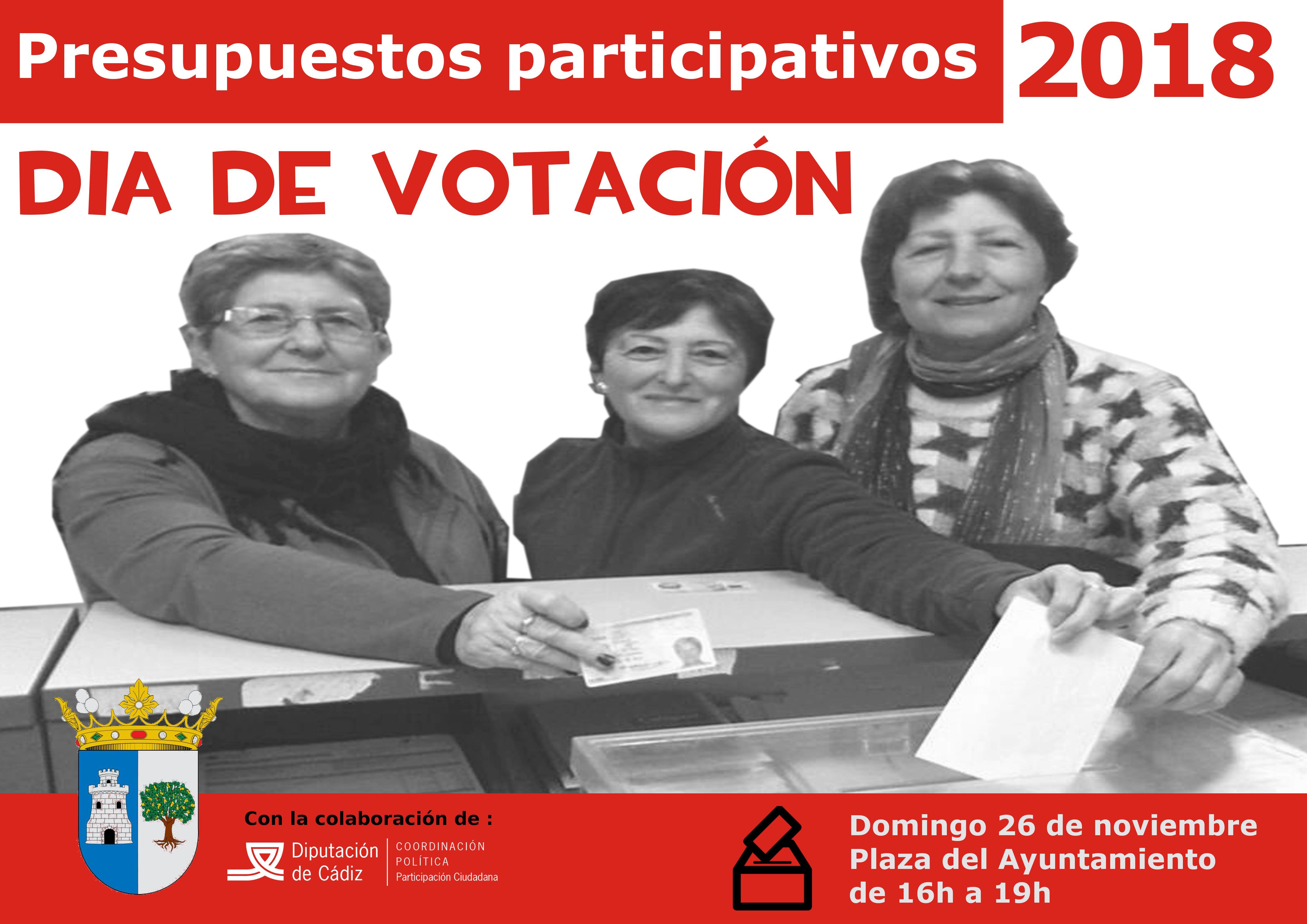 Imagen de la noticia Presupuestos Participativos de Alcalá del Valle 2018