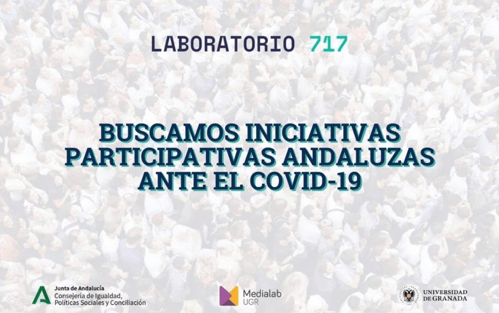 Imagen de la noticia Buscamos iniciativas de participación andaluzas ante la crisis del COVID-19
