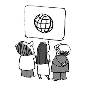 Imagen de la meotodología Vistas Mundiales