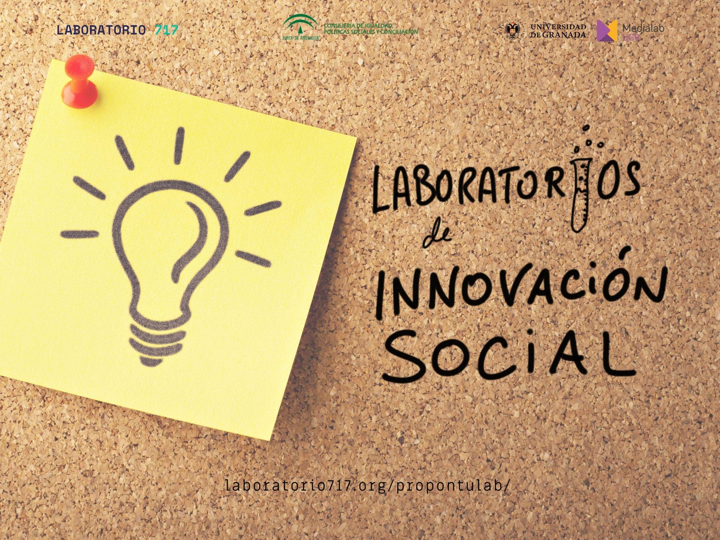 Imagen de la noticia Abierta la convocatoria de proyectos de los Laboratorios de Innovación Social