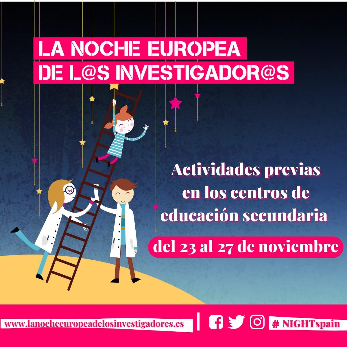 Imagen de la noticia El Laboratorio 717 en La Noche Europea de l@s Investigador@s