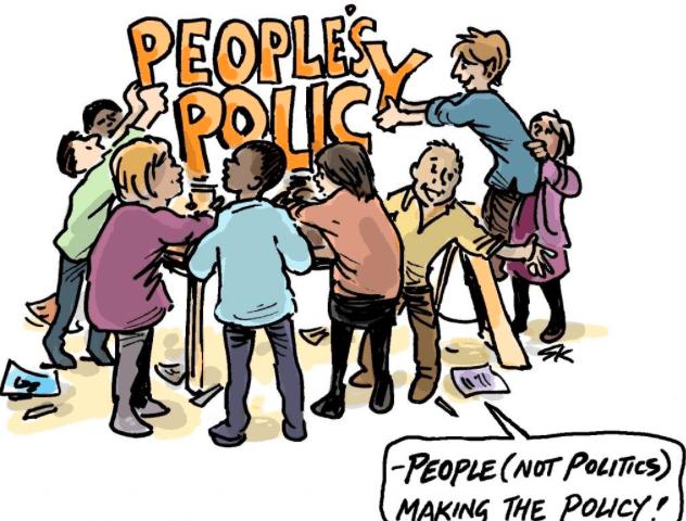 Imagen de la meotodología Política de la gente