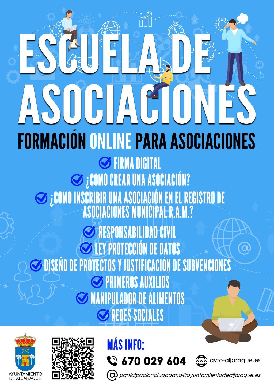 Imagen de la noticia Escuela de Asociaciones Online del Ayuntamiento de Aljaraque