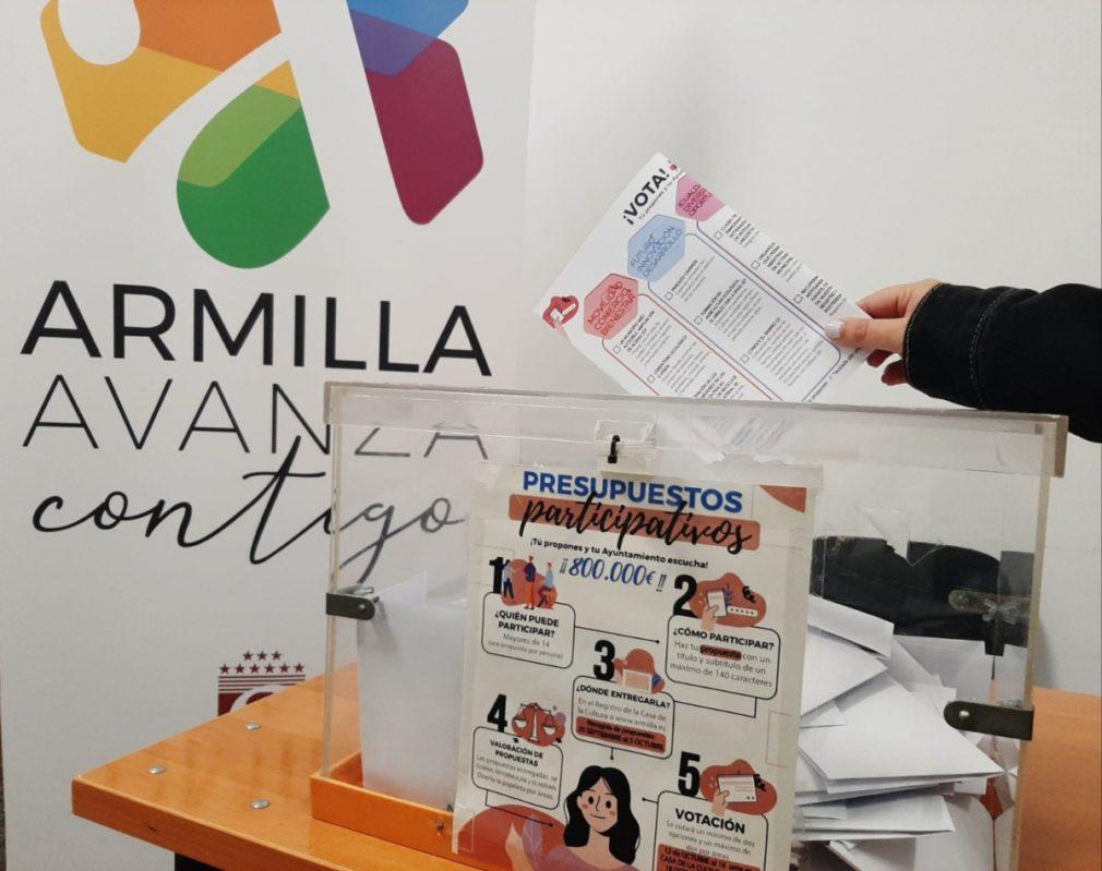 Imagen de la noticia Presupuestos Participativos 2020 en el Ayuntamiento de Armilla