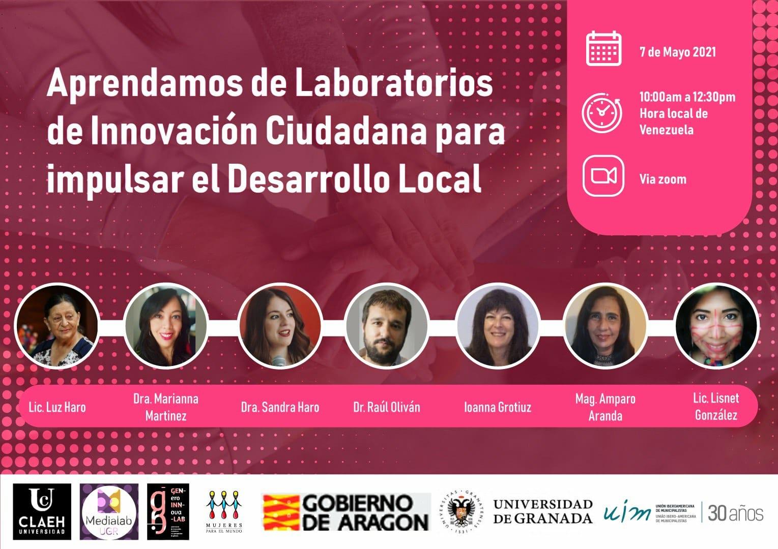 """Imagen de la noticia El Lab717 en la jornada formativa """"Aprendamos de Laboratorios de Innovación Ciudadana para impulsar el Desarrollo Local"""""""