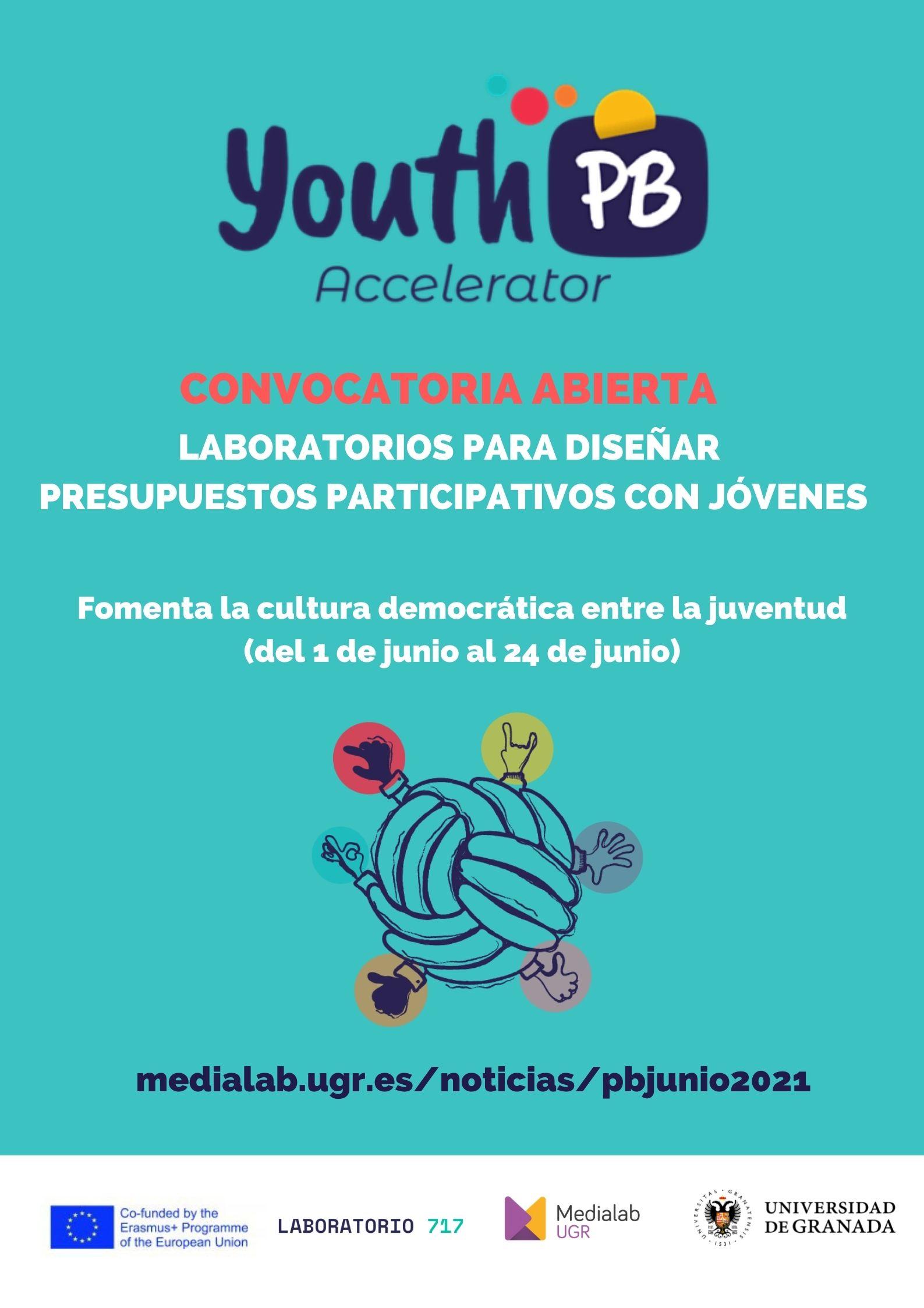Imagen de la noticia Convocatoria abierta de laboratorios para diseñar presupuestos participativos con jóvenes